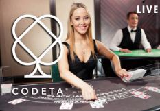 Codeta.com är ett nytt online casino med fokus på bordsspel