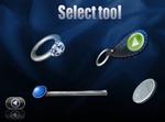 Välj Skrap-verktyg